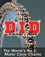 The world no.1 motorcycle chains.